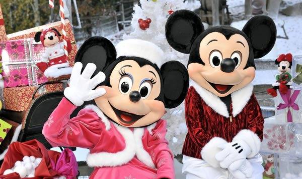 Vuelos a Paris_Mickey Minnie navidad